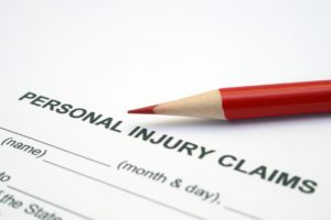 Claim for personal injury in Iroquois Ontario